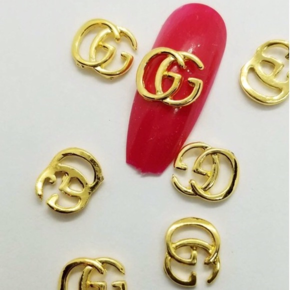 Jewelry   New Gold 10mm Decals Fashion Order Nail Charms   Poshmark